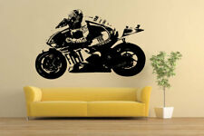 Rossi Moto GP Moto Racing Bicicleta Pegatina de vinilo de Casa Pared Calcomanía VE68