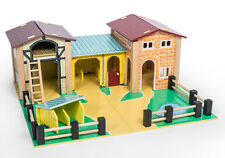 Brand New Le Toy Van The Farmyard Farm Wooden Wood Toy