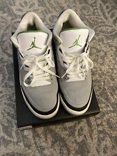 Nike Air Jordan 3 Retro Chlorophyll Size 12 Pre-Owned