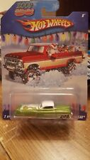 Hotwheels 2009 Holiday Rods custom 53 Cadillac 2 of 6 lime green