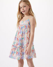 6d841a956bb Jigsaw Coastal Reef Strappy Dress Girls New Cream Ivory