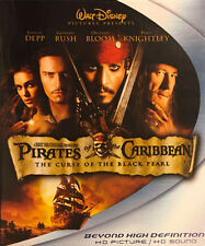 PIRATES OF THE CARIBBEAN: THE CURSE OF THE BLACK PEARL Blu-Ray Johnny Depp