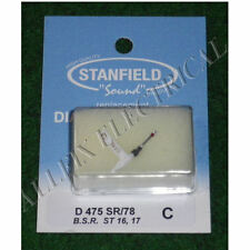 BSR ST16, ST17 Compatible Turntable Stylus. Stanfield Part No. D475SR/78