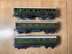 Trix Twin Bassett Lowke 3 Rail AC Southern Railway 3 Car EMU unit