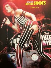 Quiet Riot, Kevin DuBrow, Double Full Page Vintage Pinup