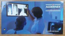 MINT STAMPS: ALDERNEY, COMMUNITY SERVICES, PART 1 - HEALTHCARE: 2001, MNH