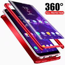 Hülle Samsung Galaxy S9 S8+ Plus -  Full Cover 360 Grad Handy Schutz Case Bumper