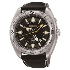 Seiko Stainless Steel Case Wristwatches with 24-Hour Dial