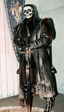 "Coat Black Leather ""MAD MAX"" (Provenence Cinema/theatre) T. 52"