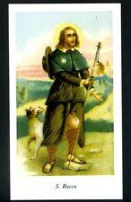SANTINO - HOLY CARD- IMAGE PIEUSE - Heiligenbild  SAN ROCCO