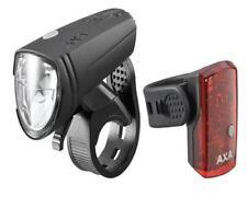 AXA Fahrrad Akku Beleuchtungsset USB Green Line 15