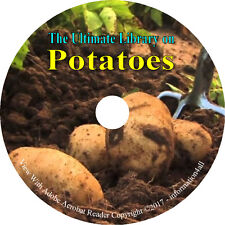 45 Books on CD Ultimate Library on Potatoes, Potato Yams How to Grow Cook Profit