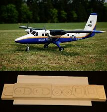 "84"" wingspan D.H. Twin Otter DHC-6 R/c Plane short kit/semi kit and plans"