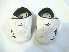 Puma Kinder-Fit Infant Crib Shoes Black & White Size 1 New No Tags or Box