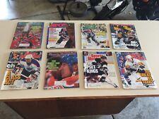 Sports Illustrated Hockey Wayne Gretzky Mario Lemieux Lot (8) Vintage