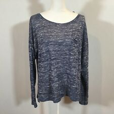 DIVIDED by H&M Women Blouse Shirt Top Women Size Large Long Sleeve Sweater C122