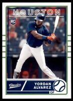 2020 Chronicles Classics #1 Yordan Alvarez Houston Astros