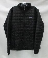 Patagonia Mens Nano Puff Jacket 84212 Black Size Medium