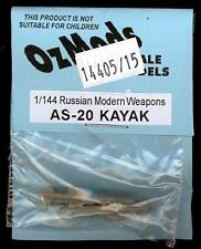 OzMods Models 1/144 Russian AS-20 KAYAK MISSILES Resin Set