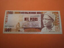 BILLETE 1000 PESOS === 1993 === GUINEA BISSAU, S/C