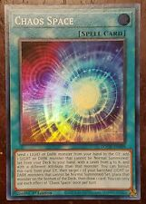 Yugioh Chaos Space TOCH-EN009 1st Edition Super Rare NM/M TheBigTinyStore