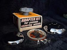 NOS GRANT Chrome Steering Wheel Horn Kit-for all 1957 Fords except P/U & T-Bird