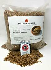 10 Lbs Hen Express Dried Mealworms for Wild Birds etc. Approx. 160,000 Mealworms