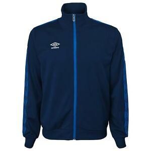 Umbro Men's Double Diamond Track Jacket, Navy/Tw Royal