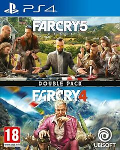 Far Cry 4 + Far Cry 5 (Double Pack) (PS4)