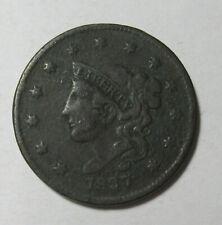 1837 Coronet Head Cent (#717A)