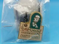 WDCC Disney 1992 Charter Cloissone Jiminy Cricket Pinnochio Pin TieTack NOS