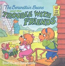 The Berenstain Bears Trouble with Friends Stan Jan Berenstain Children's Book HC