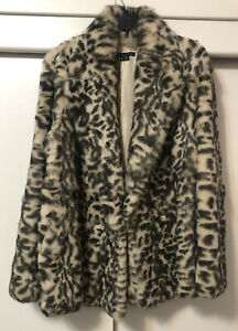 Theory Rabbit fur coat Womens large