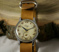 POBEDA Extremly Rare Vintage Military SERViCED watch 15 Jewels from 1957 USSR