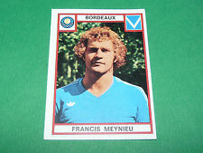 MEYNIEU BORDEAUX GIRONDINS LESCURE RECUPERATION PANINI FOOTBALL 76 1975-1976