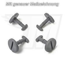 10x Tappetini clip in grigio chiusura a rotazione per BMW e39 e46 e83 | 82119410191