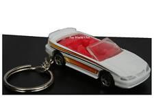 Custom Key Chain '96 Ford Mustang Convertible white