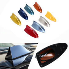 Auto Cars Roof Shark Fin Antenna FM/AM Radio Aerial ABS Universal Fit For BMW
