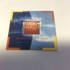Steadicam Merlin Setup Operation DVD CD Step by Step Quick Start Guide