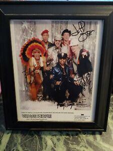 Village People Band Signed 8x10 Autographed (NO COA) Photo