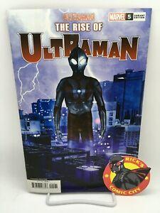 RISE OF ULTRAMAN #5 KIA ASAMIYA VARIANT Marvel Comics 2021 Higgins Groom Manna