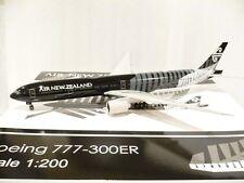 JC Wings 200 Air New Zealand B777-300ER, All Blacks, Reg.#ZK-OKQ 1:200 Scale @@
