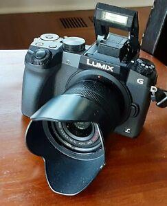 Panasonic Lumix G7 Mirrorless Camera w/ G Vario 14-42mm f/3.5-5.6 Mega OIS Lens