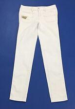Diesel kinkey 008ac jeans W27 tg 41 skinny bianco stretch usato donna T1963