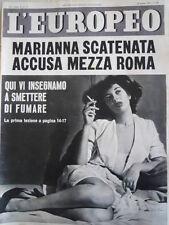 L' EUROPEO n°11 1954 I morti dell' Ucciardone  [C77]