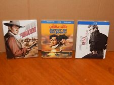 Rebel Without A Cause, The Comancheros, Mutiny On The Bounty Blu-rays with Books
