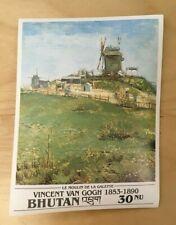 SPECIAL LOT Bhutan 1991 1016 - Van Gogh Paintings - 50 Souvenir Sheets - IMPERF