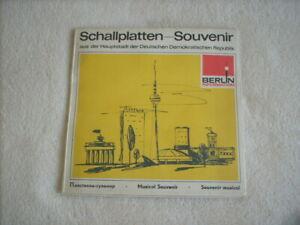 Schallplatten Souvenier Berlin  DDR