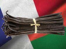 10 gousses de vanille bourbon de Madagascar 13cm - 15cm