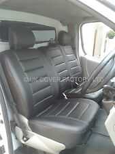 Peugeot Boxer Van Seat Cover- PBA331 Quilted PVC Leather- Made to Measure 1+2